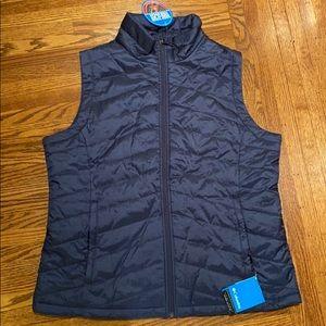 Men's Columbia XL navy vest NWT
